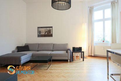 Ремонт кухни-зала в квартире 56 кв.м. в Строгино, фото-2