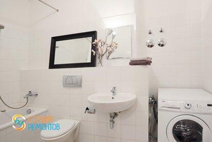 Ремонт санузла в квартире 56 кв.м. в Строгино