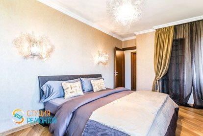 Ремонт спальни в квартире 56 м2 в Люблино