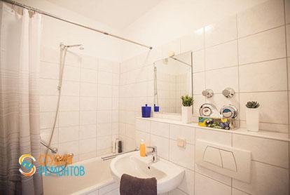 Ремонт ванной в квартире 56 м2 в Трехгорке