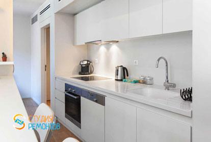 Ремонт кухни-гостиной в квартире 57 кв.м. в Беляево, фото-1