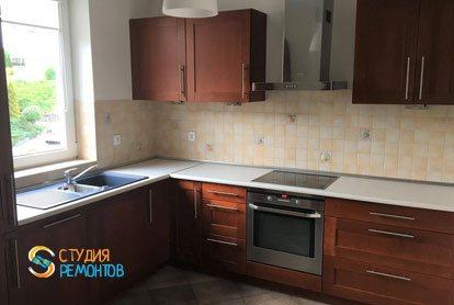 Ремонт кухни в квартире 57 кв.м. в Люблино