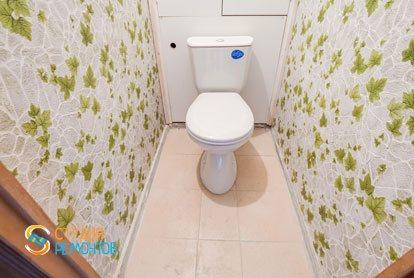 Ремонт туалета в квартире 57 м2 в Митино