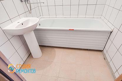 Ремонт ванной в квартире 57 м2 в Митино