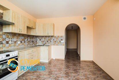 Капремонт ремонт кухни в квартире 60 кв.м. фото 2