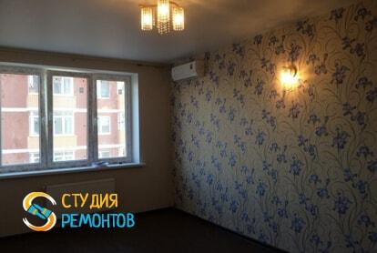 Косметический ремонт гостиной в квартире 60 кв.м. фото 1