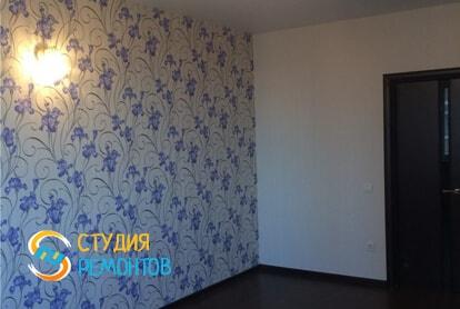 Косметический ремонт гостиной в квартире 60 кв.м. фото 2