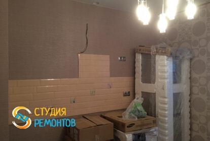 Косметический ремонт кухни в квартире 60 кв.м. фото 1
