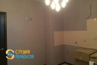 Косметический ремонт кухни в квартире 60 кв.м. фото 2