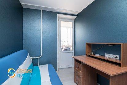 Капитальный ремонт детской в квартире 64 кв.м.