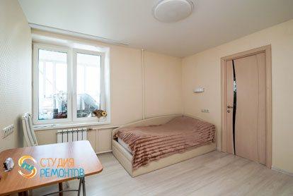 Капитальный ремонт спальни в квартире 64 кв.м.