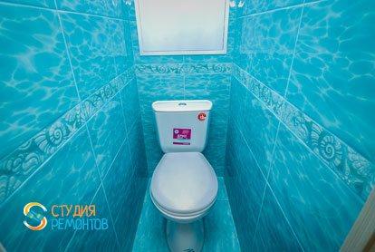 Капитальный ремонт туалета в квартире 64 кв.м.