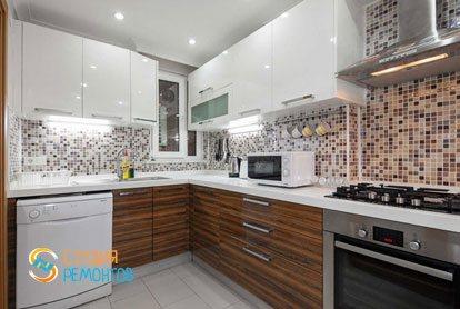 Ремонт кухни в квартире 64 кв.м. в Химках