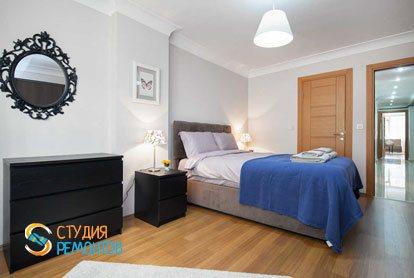 Ремонт спальни в квартире 64 кв.м. в Химках