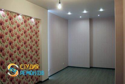 Евроремонт гостиной в квартире 65 кв.м. фото 1