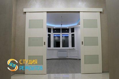 Евроремонт коридора в квартире 65 кв.м. фото 1