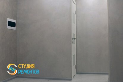 Евроремонт коридора в квартире 65 кв.м. фото 2