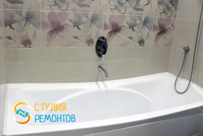 Евроремонт санузла в квартире 65 кв.м. фото 1