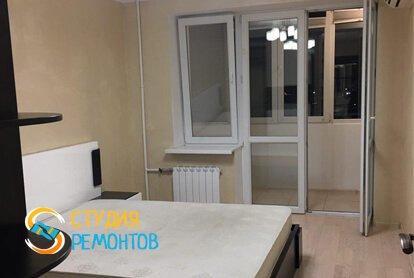 Евроремонт спальни в квартире 65 м2