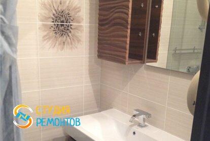 Евроремонт ванной в квартире 65 м2 фото 1