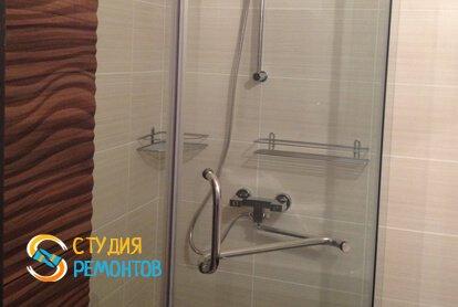Евроремонт ванной в квартире 65 м2 фото 2