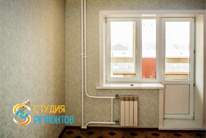 Капитальный ремонт гостиной комнаты в квартире 65 кв.м. фото 1