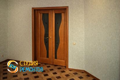 Капитальный ремонт гостиной комнаты в квартире 65 кв.м. фото 2