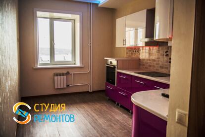 Капитальный ремонт кухни в квартире 65 кв.м.