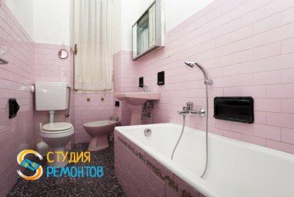 Капитальный ремонт санузла в квартире 65 кв.м.