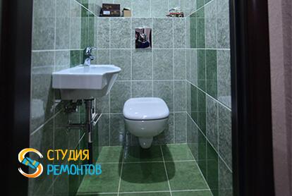 Евроремонт туалета в квартире 70 кв.м.