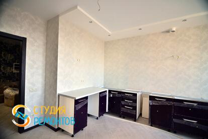 Капитальный ремонт кухни в квартире 70 кв.м.