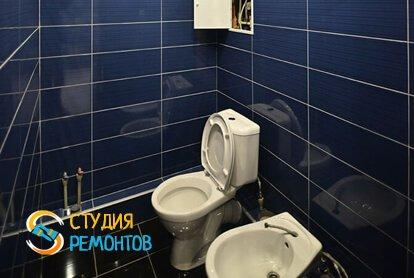Капитальный ремонт туалета в квартире 70 кв.м.
