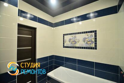 Капитальный ремонт ванной в квартире 70 кв.м.