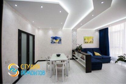 Капремонт комнаты-зала в квартире 70 кв.м. фото 1