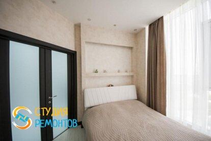Капремонт спальной комнаты в квартире 70 кв.м.