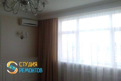 Евроремонт гостиной в квартире 80 кв.м. фото 2