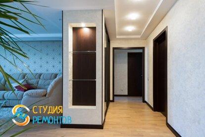 Евроремонт коридора в квартире 80 кв.м.