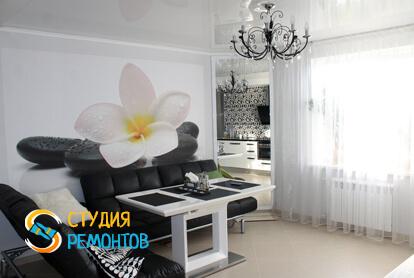 Евроремонт кухни-столовой в квартире 80 м2 фото 1