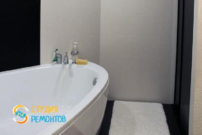 Евроремонт ванной комнаты в квартире 80 м2 фото 1