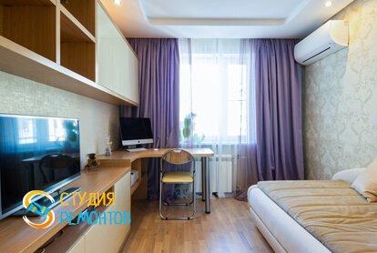 Евроремонт жилой комнаты комнаты в квартире 80 кв.м.