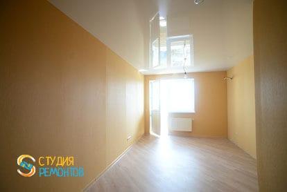 Ремонт комнаты в квартире студии 36 кв.м. под ключ фото-1