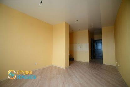 Ремонт комнаты в квартире студии 36 кв.м. под ключ фото-2