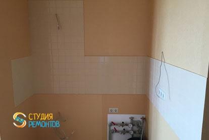 Ремонт комнаты в квартире студии 36 кв.м. под ключ фото-3