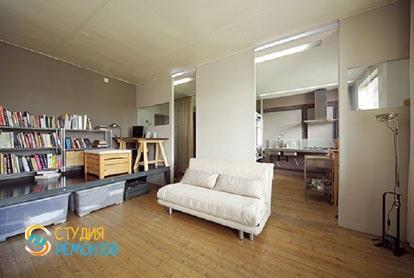 Ремонт квартиры-студии 40 кв.м. под ключ. Комната, фото-1