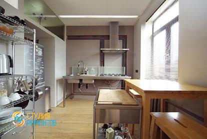 Ремонт квартиры-студии 40 кв.м. под ключ. Кухня, фото-2