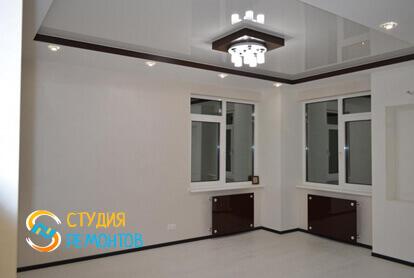 Евроремонт жилой комнаты в квартире-студии 27,2 кв.м. фото 1