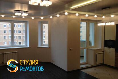 Капитальный ремонт спальной зоны в квартире-студии 25 кв.м. фото 1