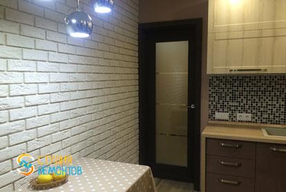 Ремонт кухни в квартире 51 кв.м. в стиле лофт фото-1