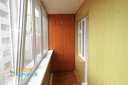 Косметический ремонт лоджии 3,5 кв.м.