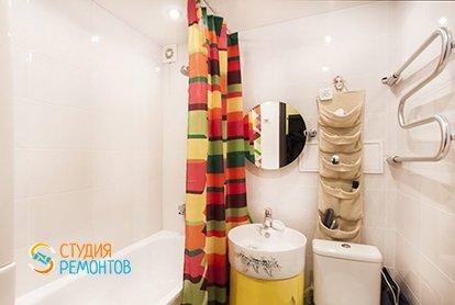 Евроремонт ванной в малогабаритной хрущевке 29 кв.м.